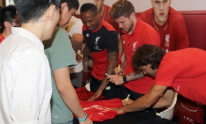 Huge crowd for Clyne, Markovic and Moreno
