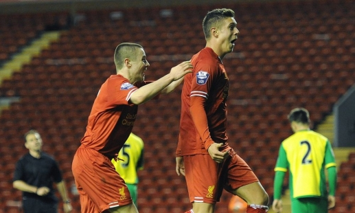 U21s to face United at Anfield