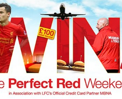 WIN the perfect RED Weekend with LFC Official Membership!