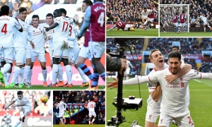 Aston Villa 0-6 Liverpool