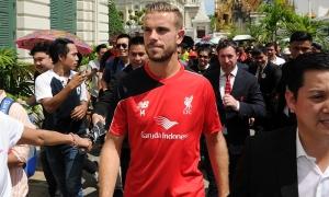 Reds visit Bangkok's Grand Palace
