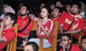Nonbar Man United vs. LFC di Depok - Jawa Barat