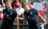 Stevie v Jordan and Pepe in crossbar challenge