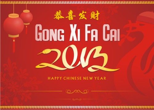 Happy Chinese New Year 2013 - The year of snake