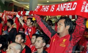 Nonbar LFC vs. Hull City di Karawang, Jawa Barat