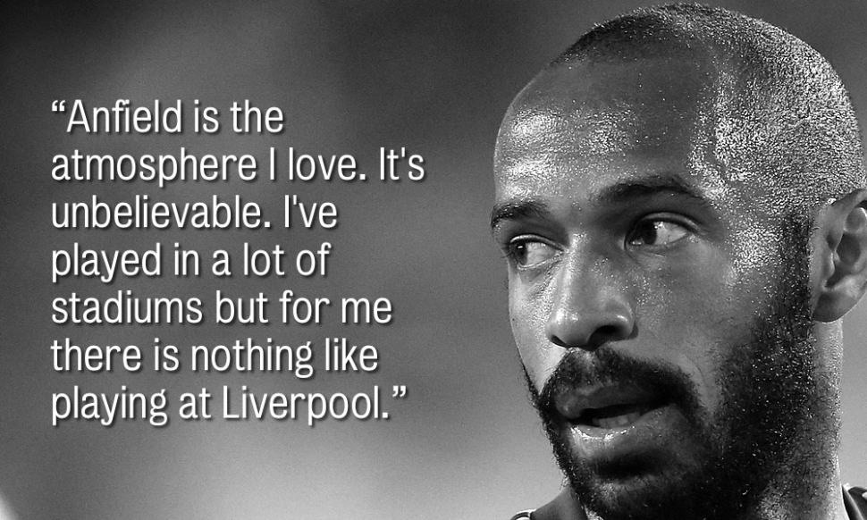Quotes From Impressive Thierry Henry Inspirational Quotes Images