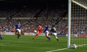 Liverpool berjaya di derby Merseyside Final Piala FA 1989