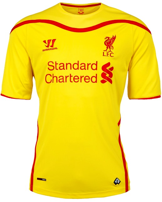 premium selection 01087 b3db0 LFC reveal brand new away kit for 2014-15 - Liverpool FC