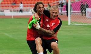 LFC squad take part in Bangkok training session