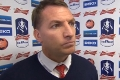 Brendan's FA Cup reaction