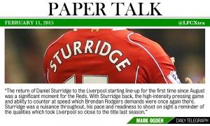 PAPER TALK: Reaksi media atas kemenangan Liverpool