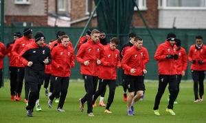 Latihan sebelum tandang ke Crystal Palace