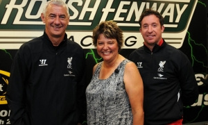 Fowler and Rush visit Roush Fenway Racing