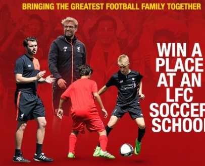 Win a place at an LFC Soccer School in Singapore