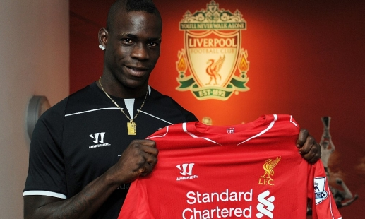 Reds complete Mario Balotelli deal