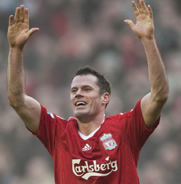 jamie carragher everton