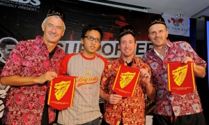 Rush, Fowler and Didi meet fans at BIGREDS night in Jakarta