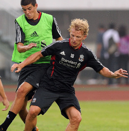 Dirk Kuyt on his starting battle