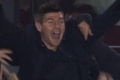 Stevie cheers on Reds