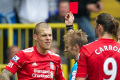 Skrtel sees red