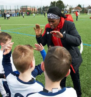 Liverpool Ladies Murray Visits Foundation Tournament