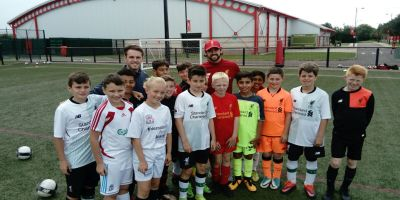 Danny Ings pays special visit to Academy Soccer School