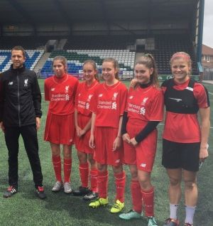 Cowley High enjoy training session with Reds