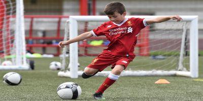 October half-term Soccer School on sale