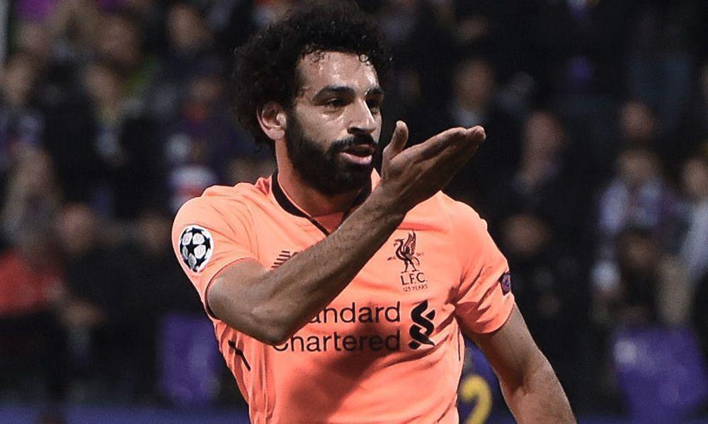 Mohamed Salah Pemain Terbaik Liga Champions Pekan Ini