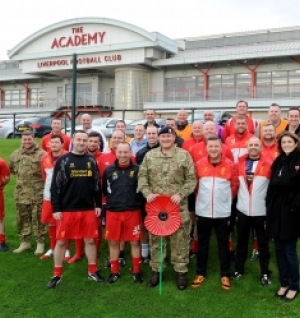 Military Veterans join RAF Lakenheath's Remembrance activities