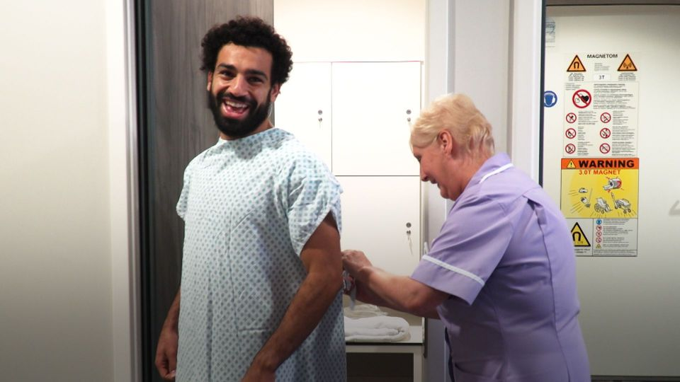 Salah's video diary: The inside story of Mo's first day