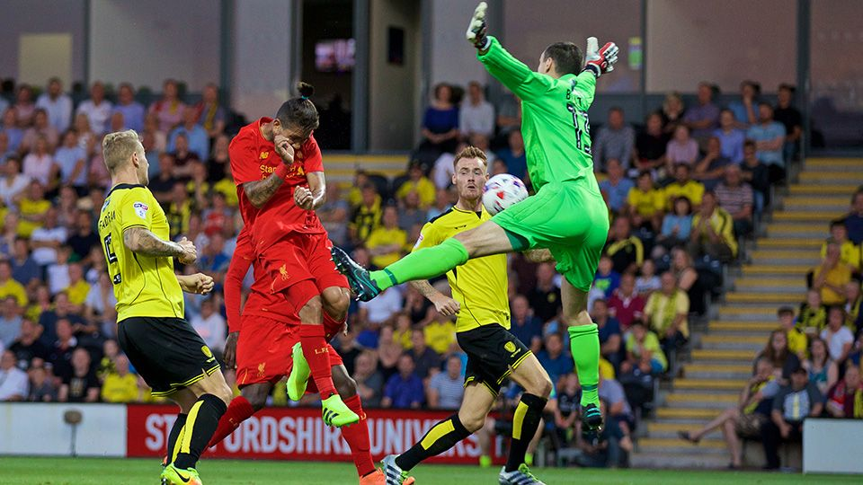 Watch: Highlights as the Reds put five past Burton