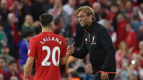 Image result for Klopp trusts me, I am more positive - Liverpool star Lallana