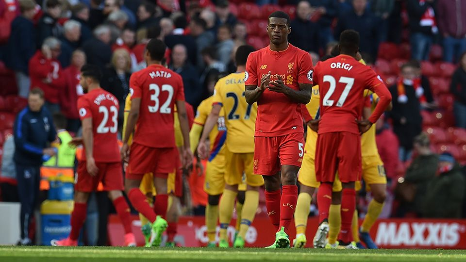 Wijnaldum's disappointment at Eagles defeat