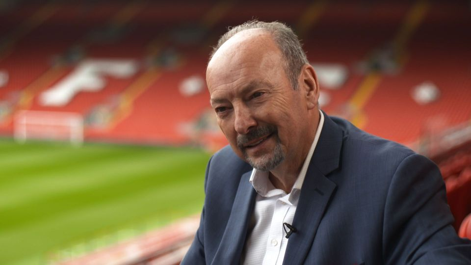 Peter Moore: The first interview