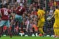 Reid heads home West Ham's opener
