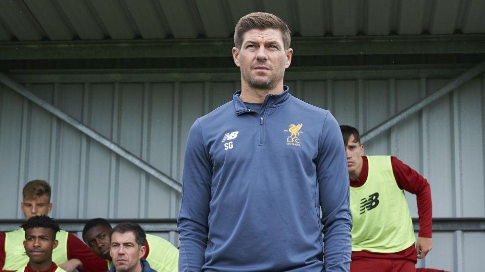 Gerrard on U18's first league win