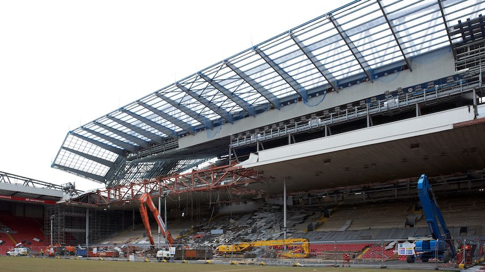 FREE: New Main Stand taking shape