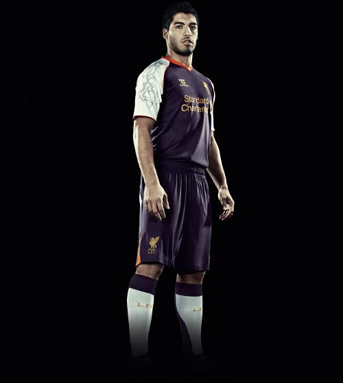 Liverpool 3e shirt 2012/2013